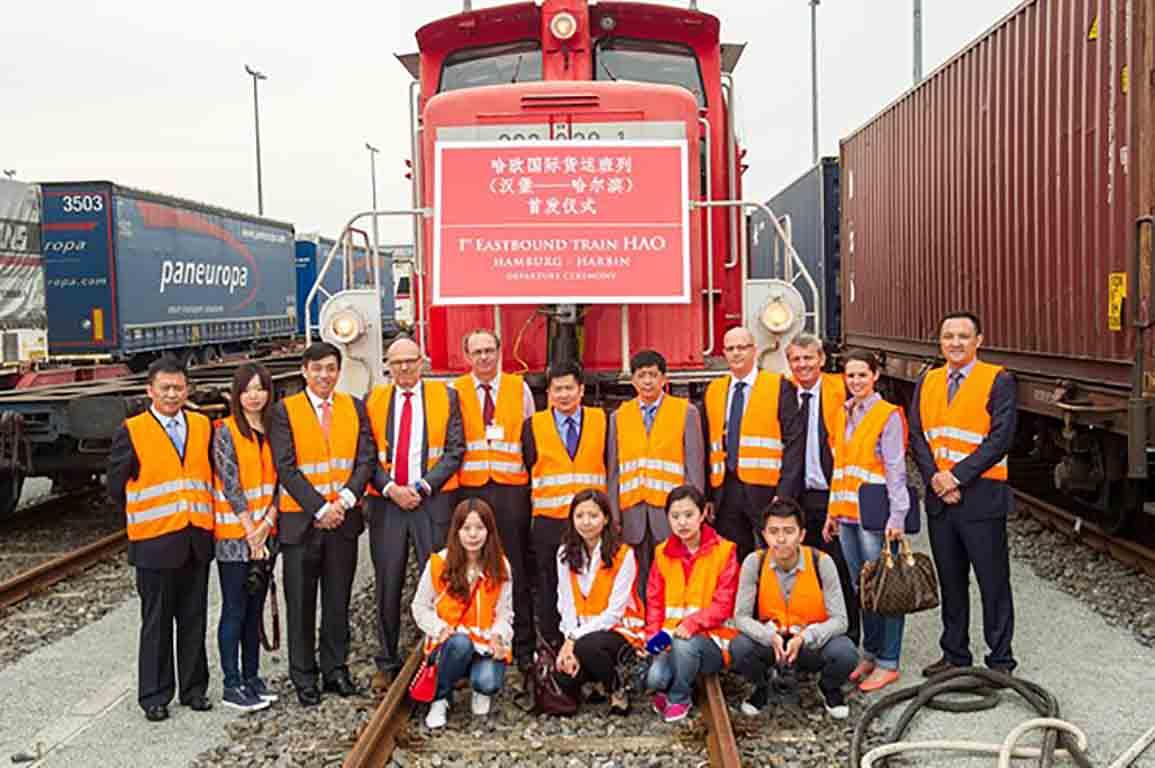 UTi lansează serviciul de transport feroviar între China și Europa