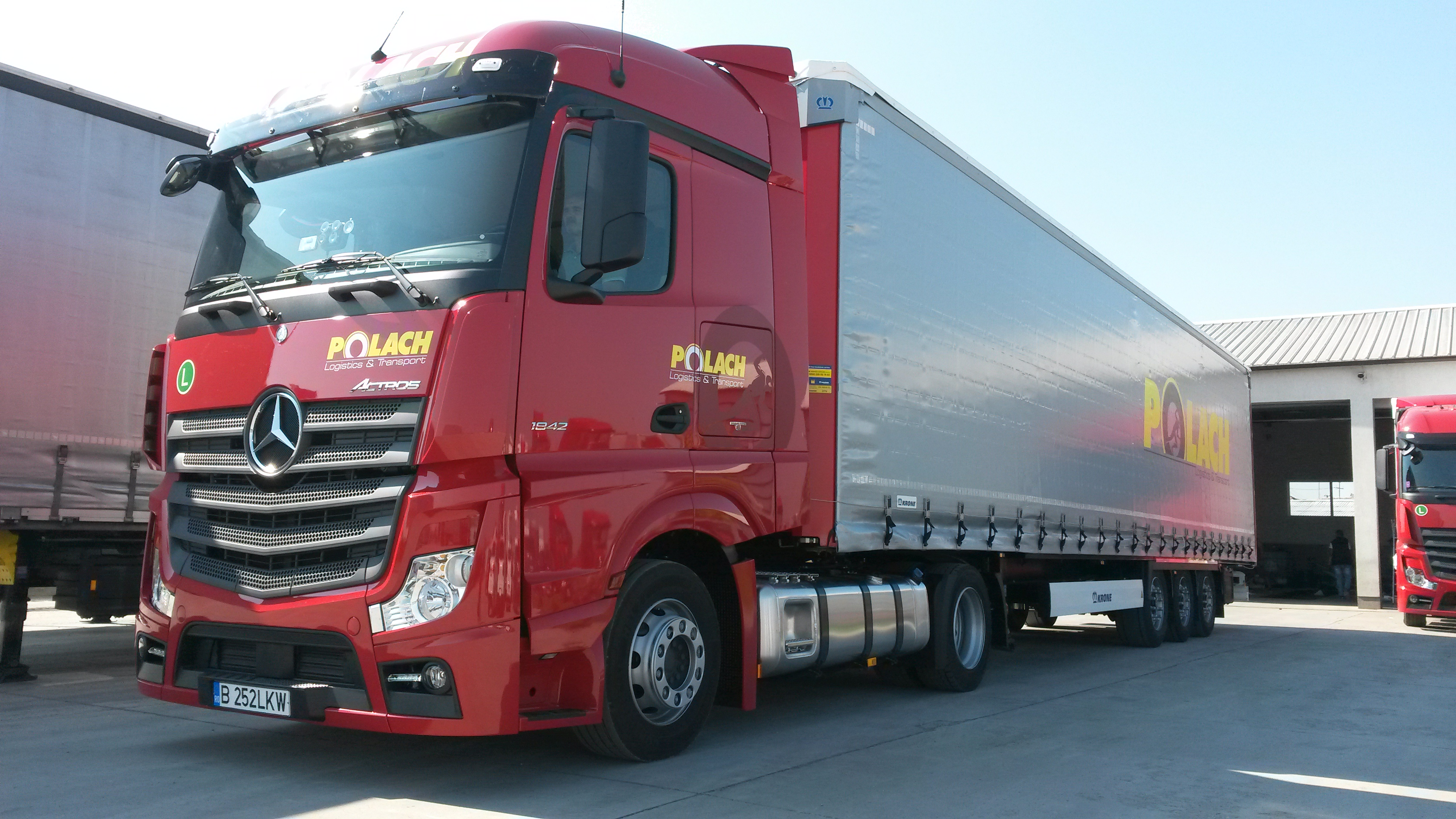 Polach Logistics & Transport își extinde flota cu 15 camioane Mercedes-Benz Actros