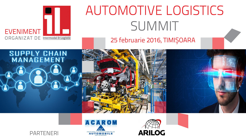 Continental și TRW, speakeri la Automotive Logistics Summit