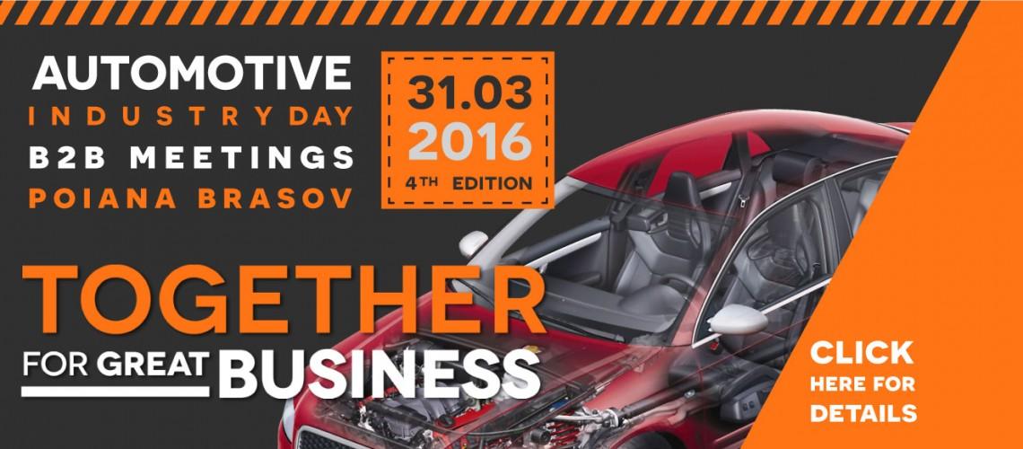 Automotive Industry Day, ediția cu numărul 4