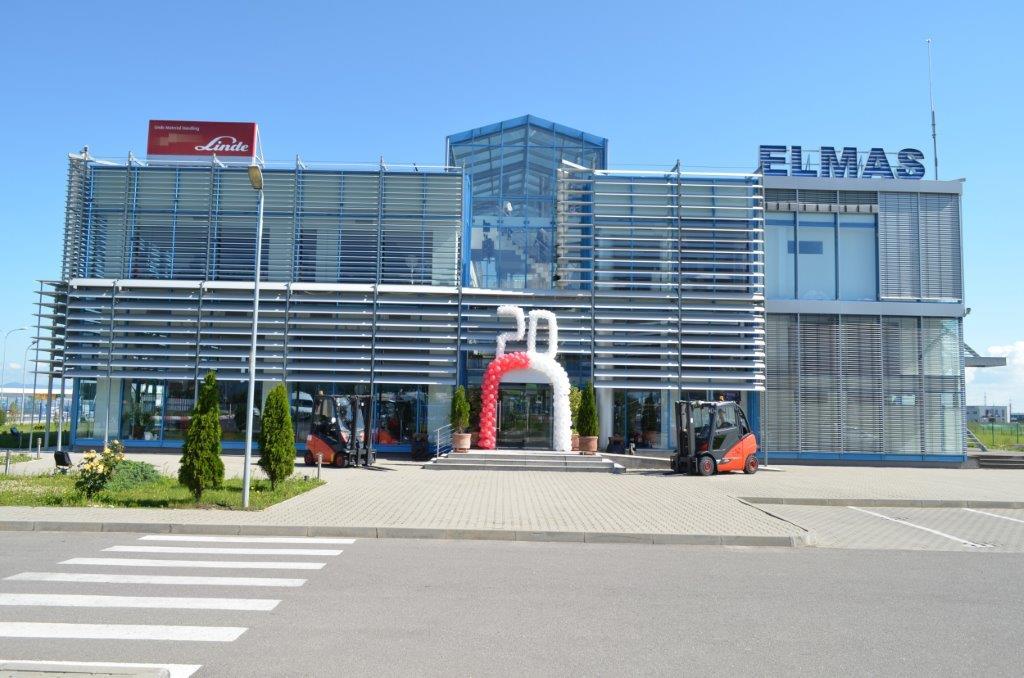 Parteneriatul  Elmas-Linde  Material Handling a aniversat două decenii