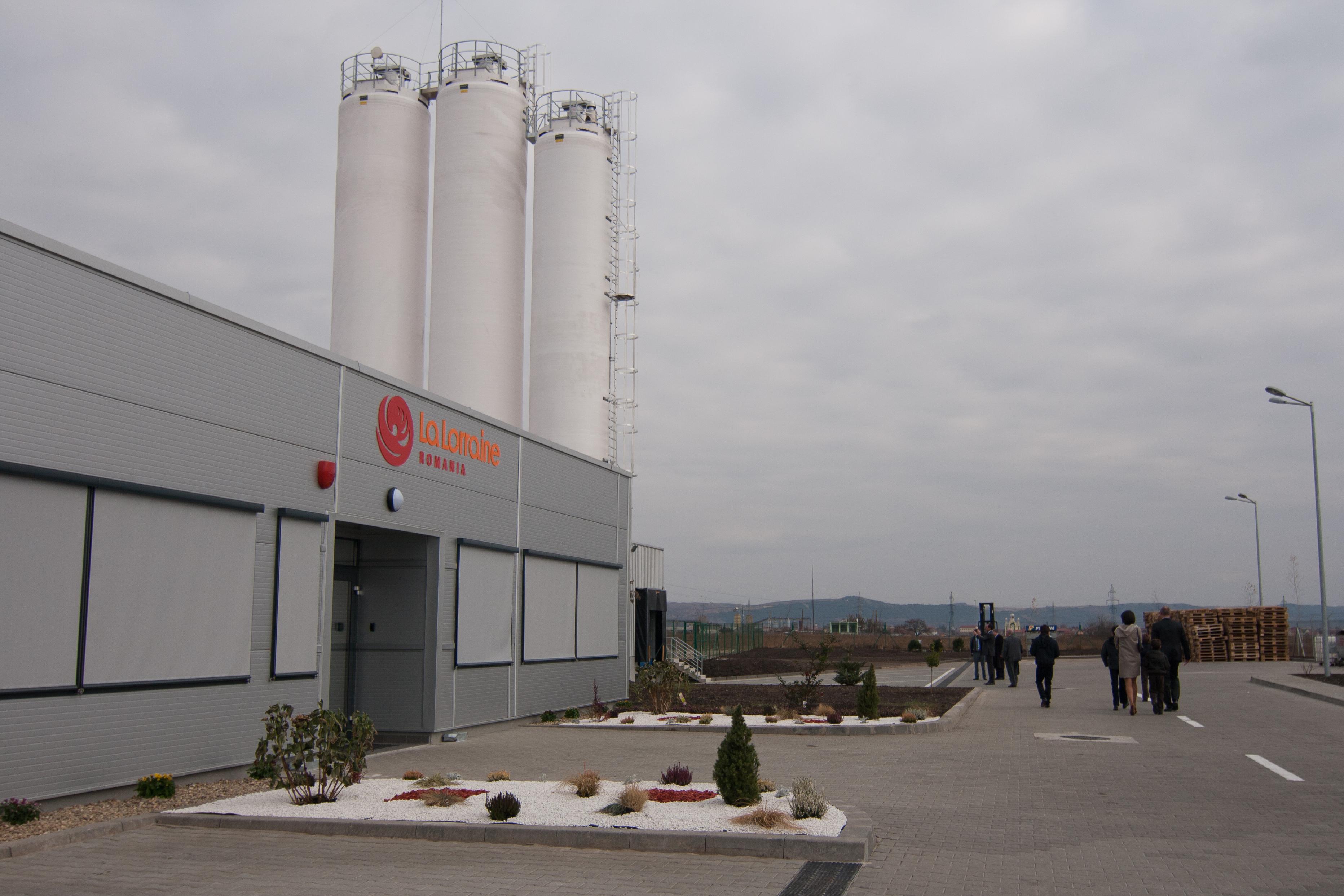 La Lorraine România a inaugurat o nouă fabrică la Câmpia Turzii