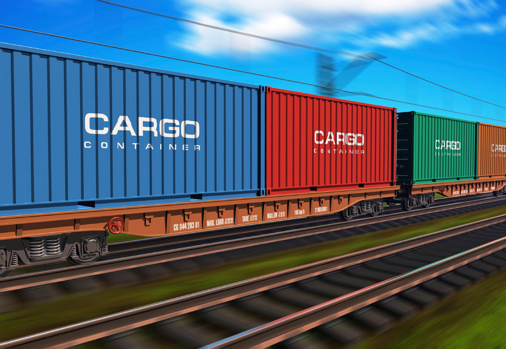 Transportul feroviar de marfă a crescut cu 3%