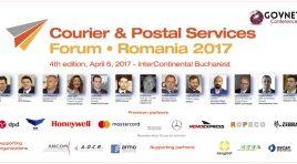 Courier & Postal Services Forum 2017 a ajuns la cea de-a patra ediție