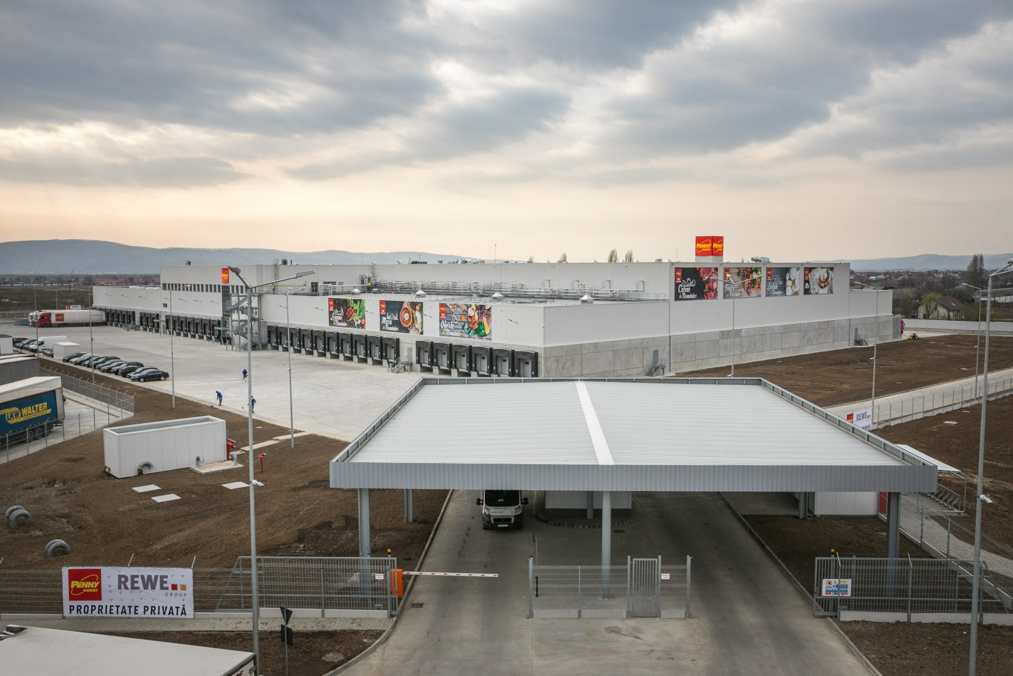 Penny Market deschide primul depozit logistic din Moldova