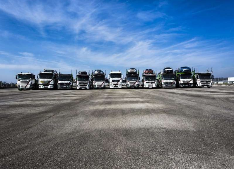 Flota Hodlmayr Romania Intermodal&Logistics