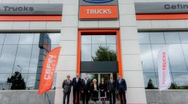 Cefin a inaugurat cel mai mare sediu Ford Trucks din Europa