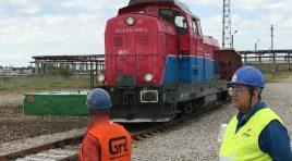 OMV Petrom extinde calea ferată din rafinăria Petrobrazi