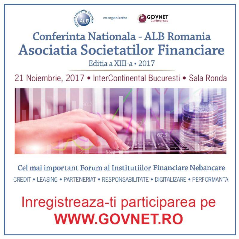 Conferința Națională ALB Romania, cel mai relevant eveniment dedicat industriei de leasing