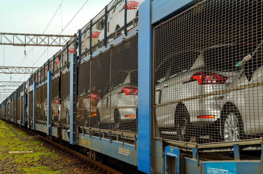 GEFCO transportă noul Ford EcoSport pe cale ferată