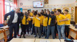 #ColțulCuFapteBune: DP World a lansatProgramul de Educaţie Globală