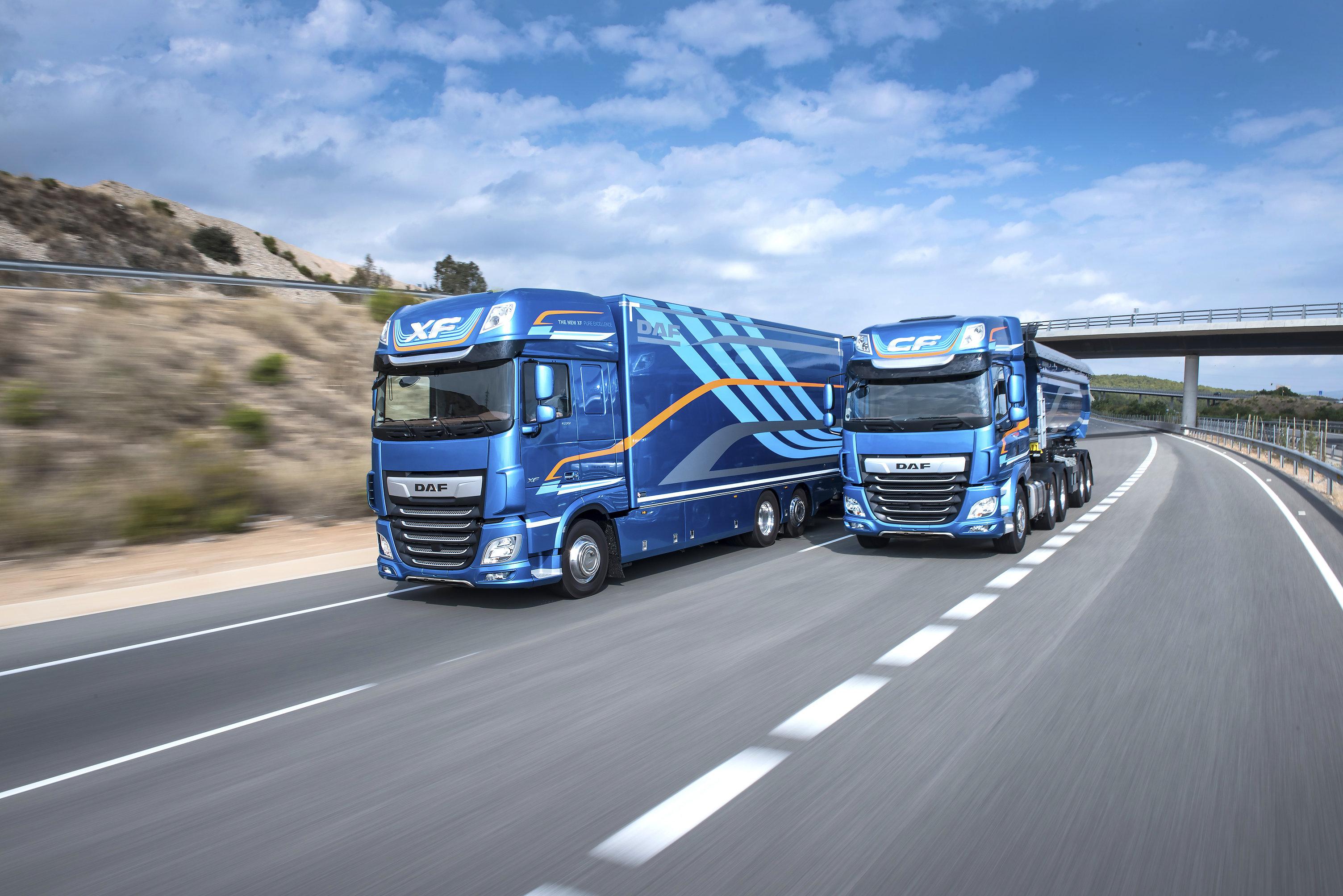 DAF XF/CF votat camionul anului 2018