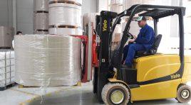 Yale – soluţia logistică în manipularea bobinelor de carton