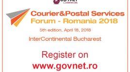 Govnet organizează a 5-a ediție a Forumului Român de Curierat și Servicii Poștale