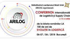 Conferința anuală de Logistică și Supply Chain ARILOG celebrează Centenarul Marii Uniri