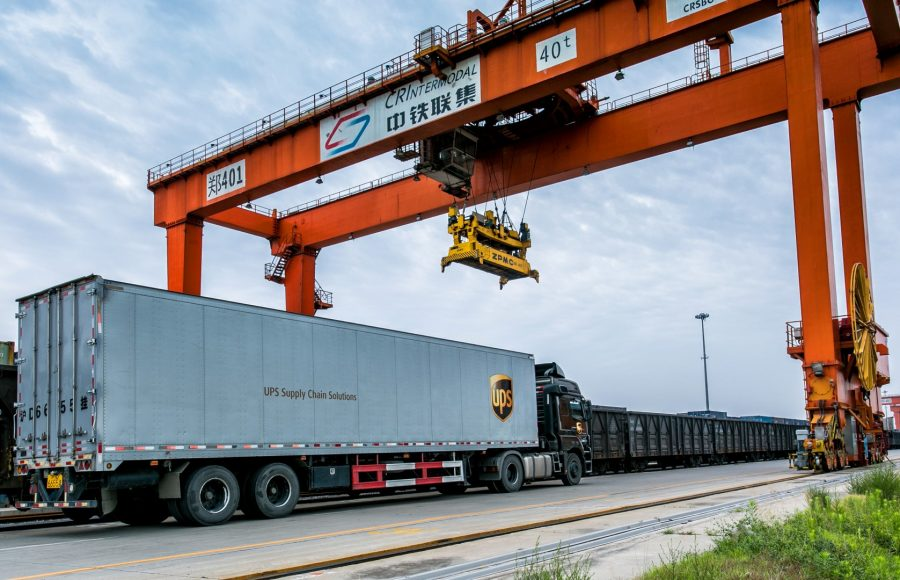 UPS conectează Europa și Hong Kong pe cale ferată
