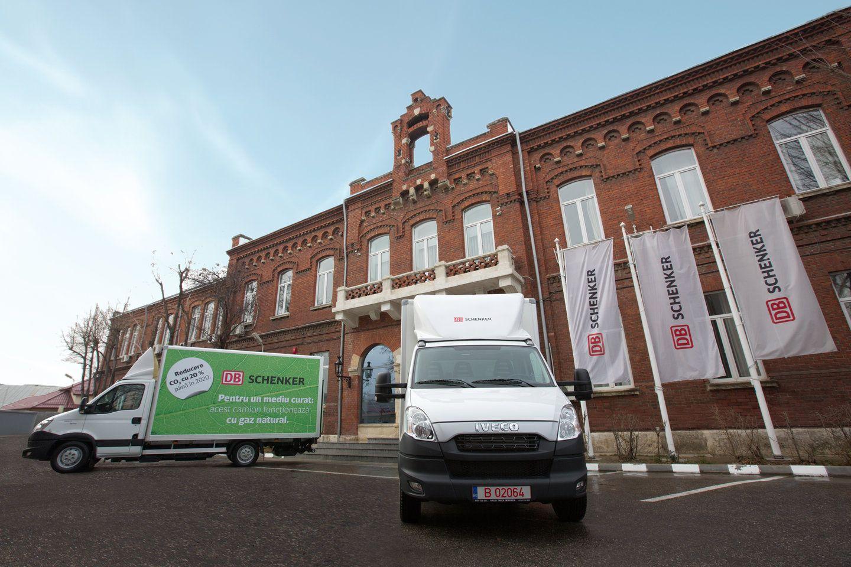 DB Schenker: primele camioane alimentate cu gaz natural
