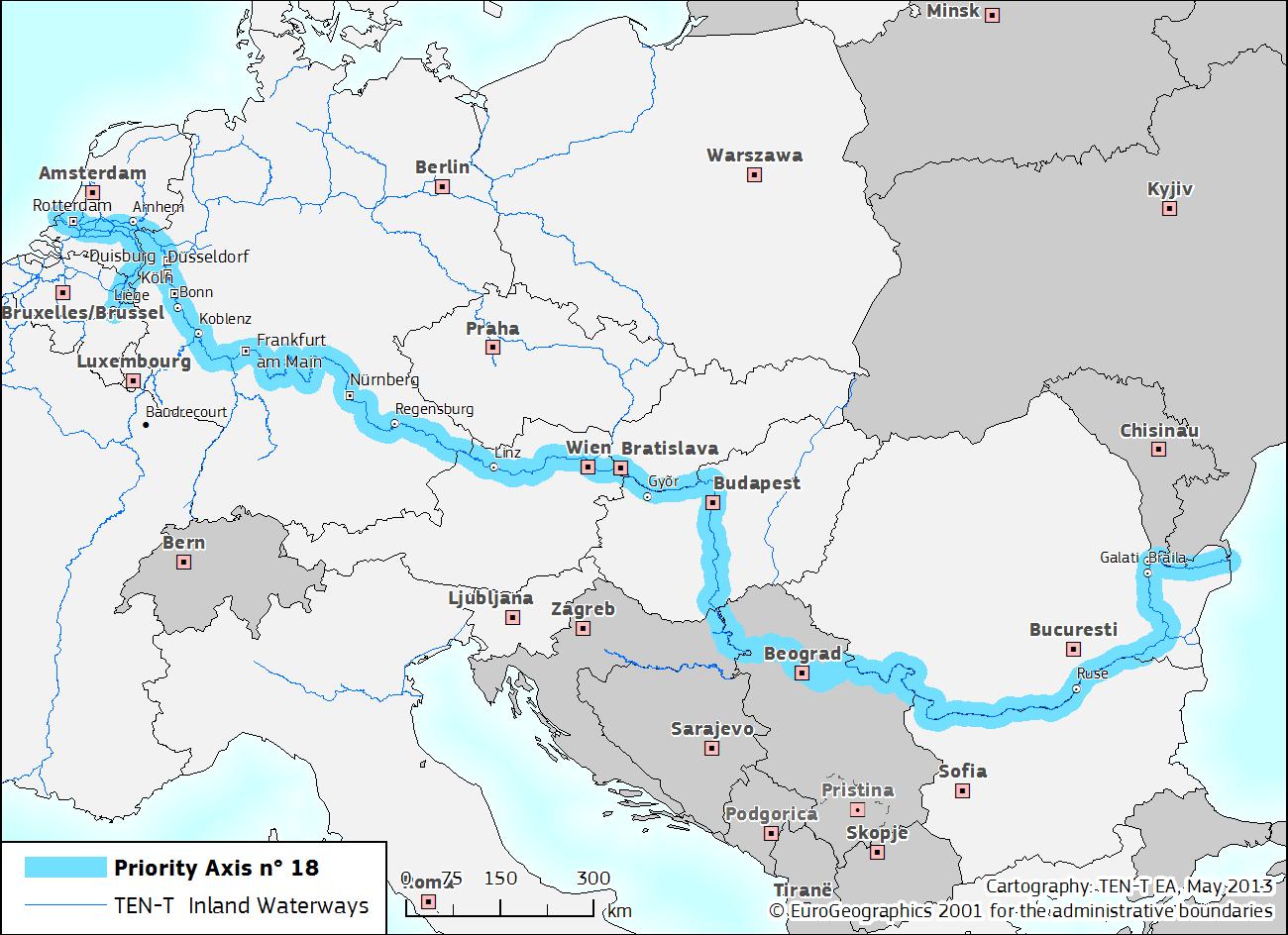 Uniunea Europeană sprijină crearea unui port verde al Dunării