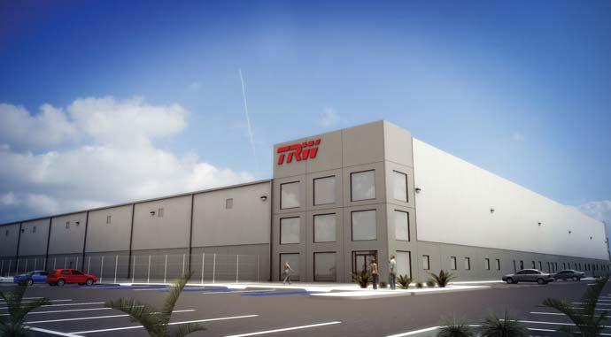 TRW Automotive a deschis o nouă fabrică la Roman