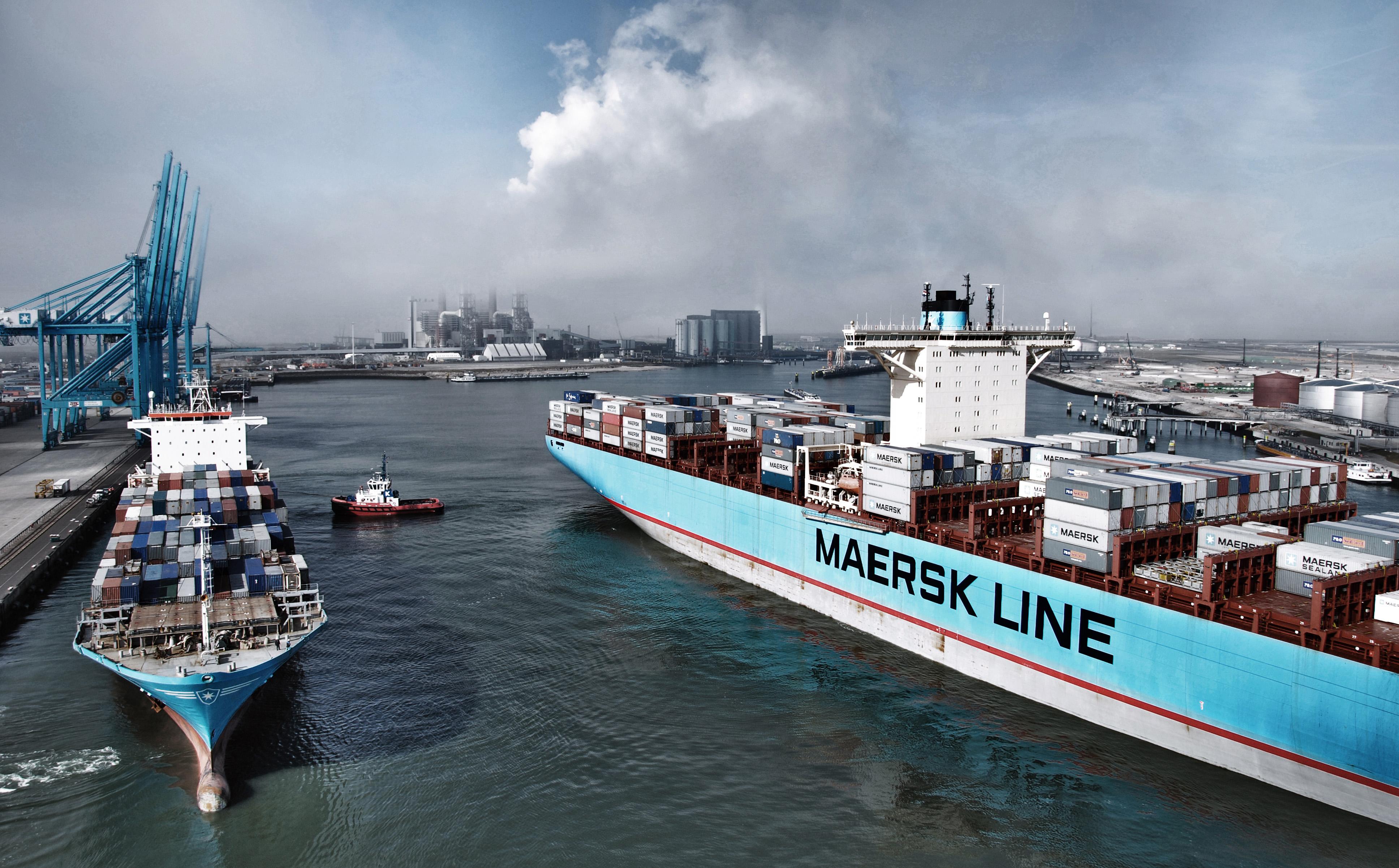 Maersk introduce o suprataxă pentru produsele refrigerate și serviciile intermodale