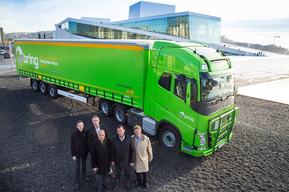 Krone a livrat 150 de semiremorci cu prelată companiei Bring