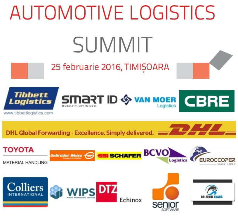 Noi companii confirmă prezența la Automotive Logistics Summit