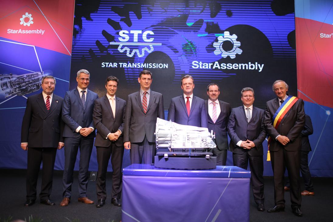 Daimler lansează producţia cutiilor de viteze automate cu nouă trepte în România