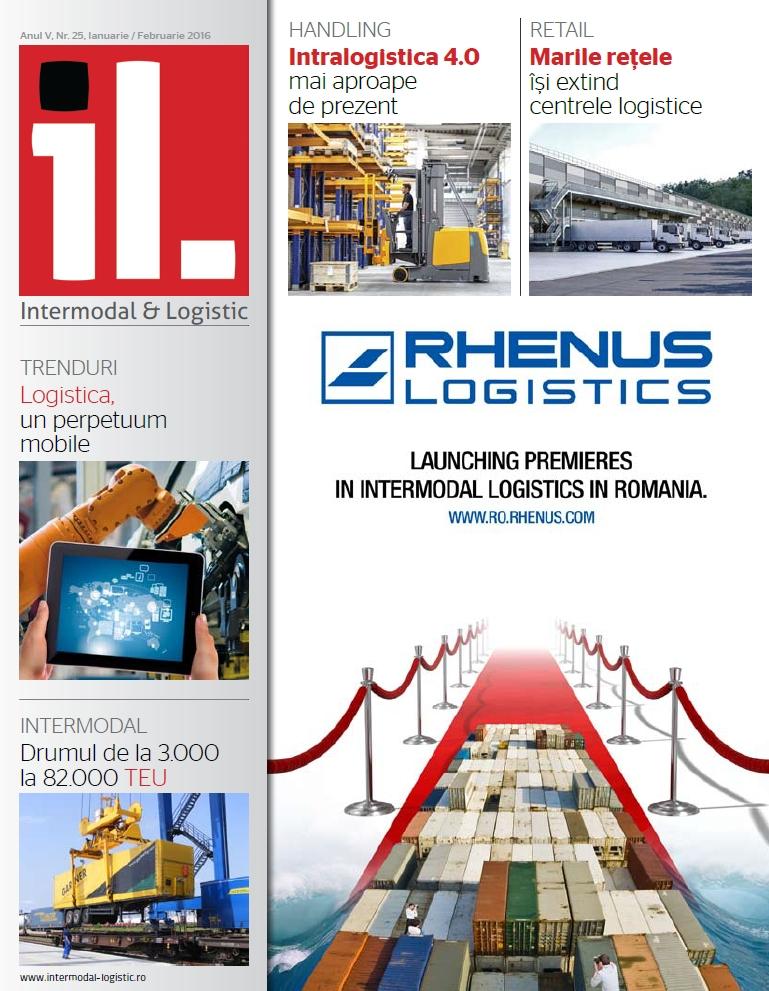 Revista Intermodal & Logistics ianuarie – februarie 2016