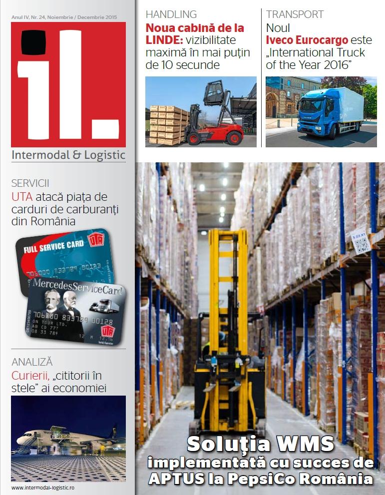 Revista Intermodal & Logistics noiembrie – decembrie 2015