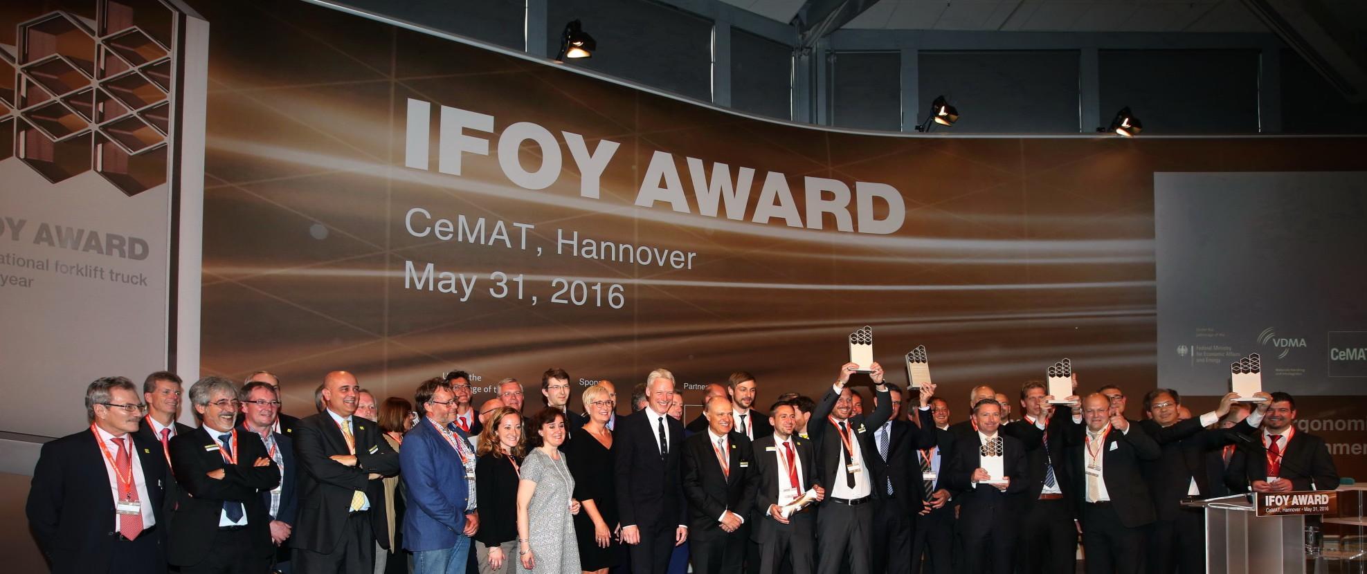 BYD, Crown, Jungheinrich și SSI Schäfer, câștigătorii premiilor IFOY Awards 2016