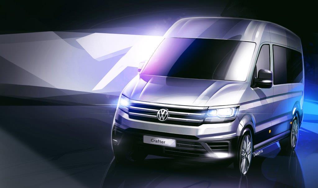 Volkswagen Crafter – un nou design și cel mai bun coefficient de rezistență