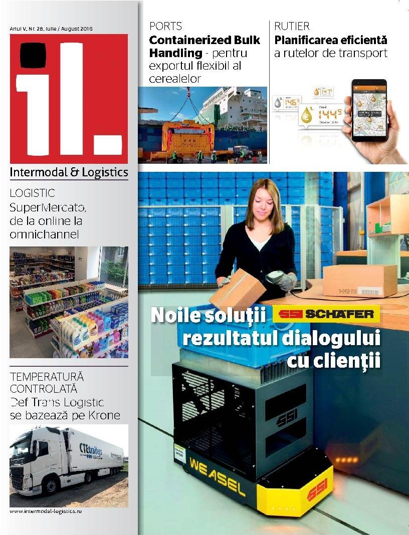 Revista Intermodal & Logistics iulie – august 2016