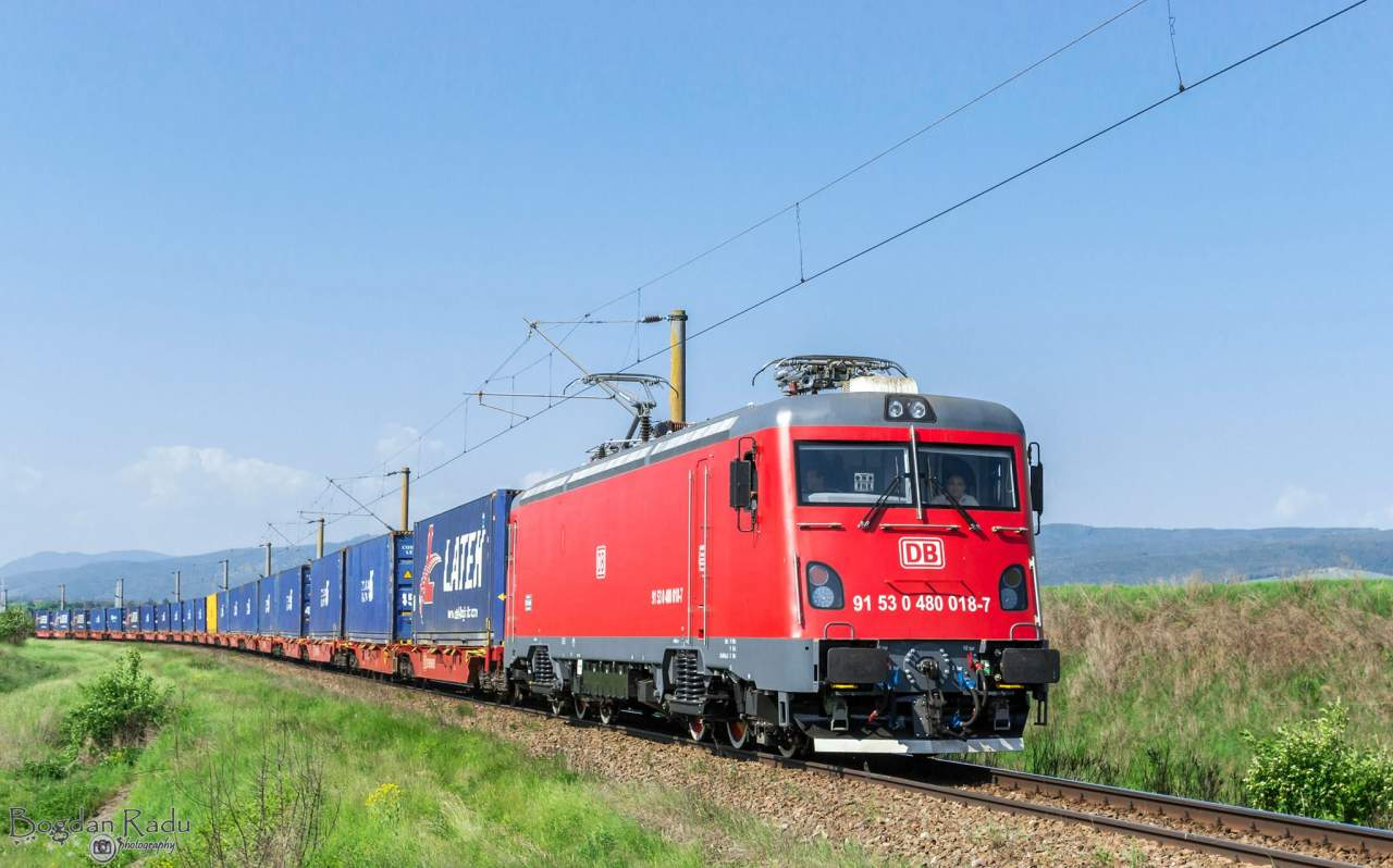 Rail Container:  transportul de containere câștigă teren și viteză