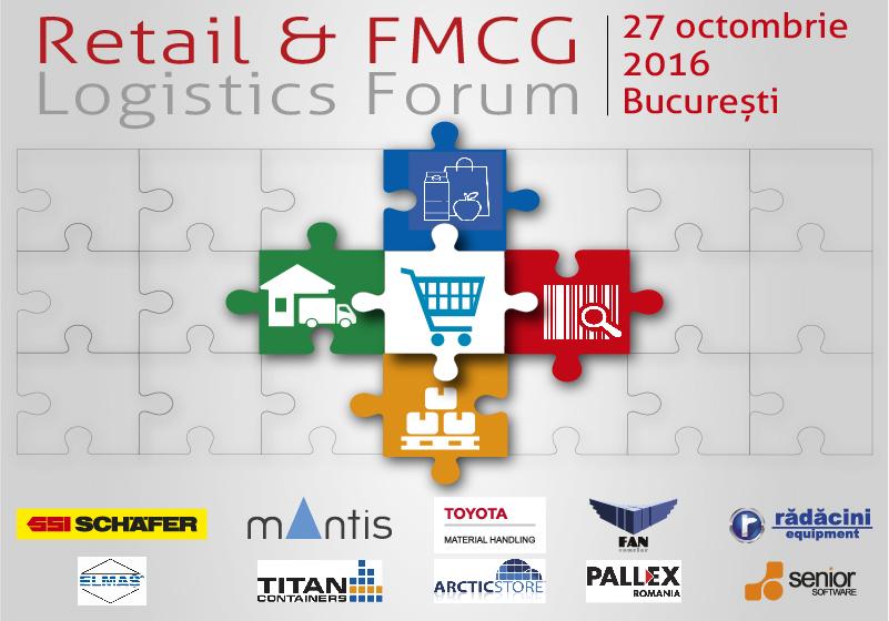 Fii parte a elitei logisticii. Vino la Retail&FMCG Logistics Forum 2016!