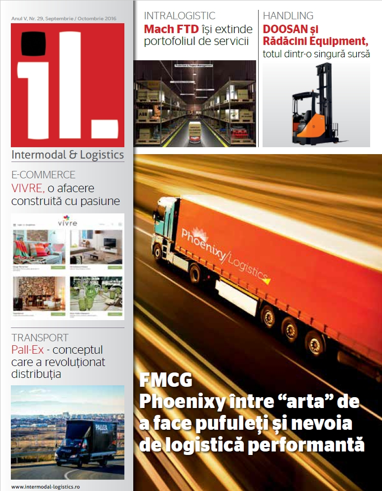 Revista Intermodal & Logistics septembrie – octombrie 2016