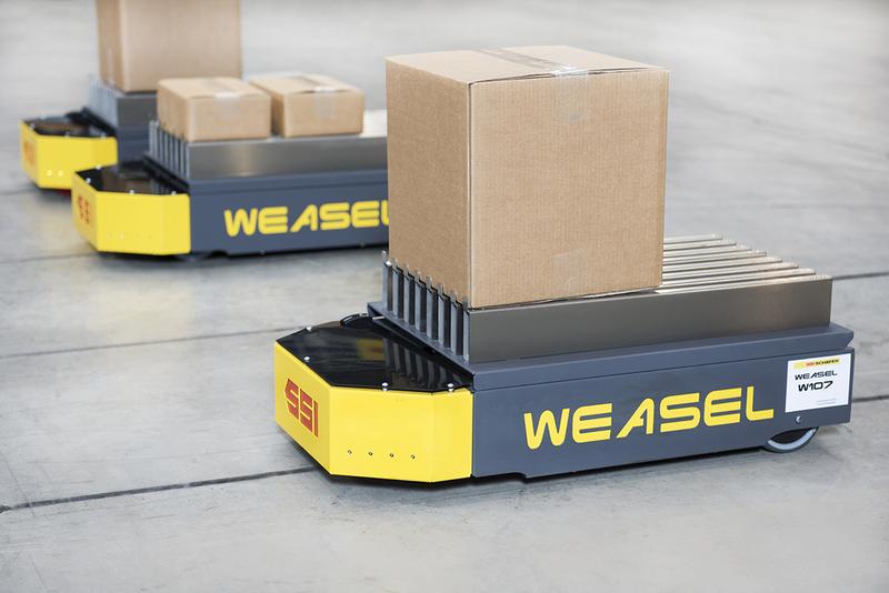 Primul demo live cu un sistem Weasel® în cadrul Automotive Logistics Summit 2017