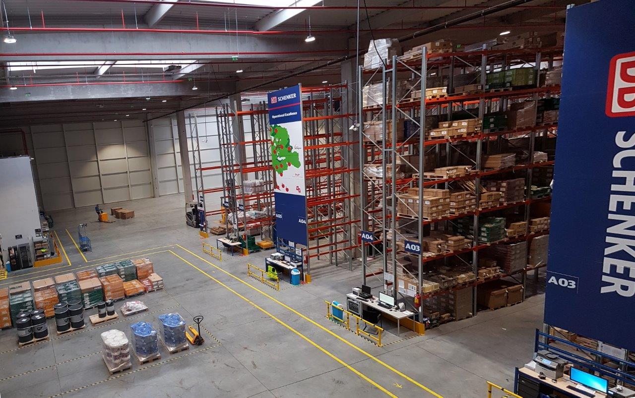 DB Schenker dezvoltă un nou depozit la Cluj