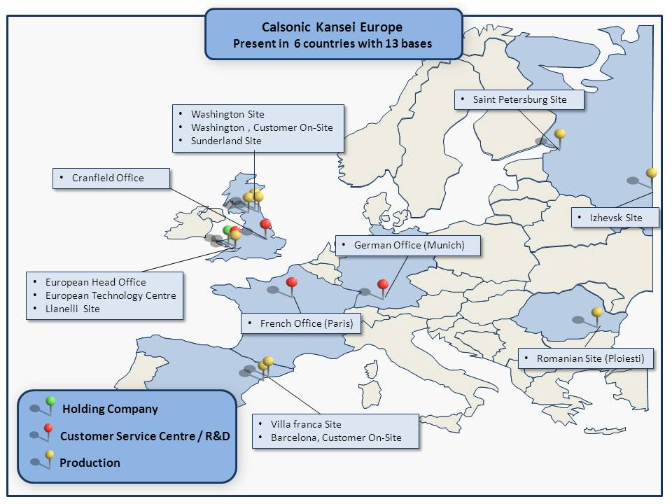 Calsonic Kansei construiește o nouă fabrică în România
