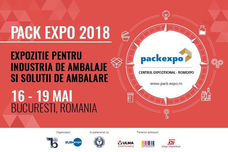 PACK EXPO 2018, expoziţia dedicată industriei de packaging din Europa de Sud-Est