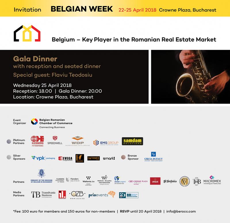 Belgian Week – patru zile dedicate comunității de afaceri belgiane în România