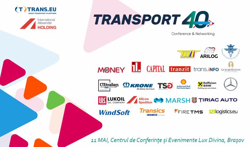 """Problemele pieței de transport discutate în conferința """"Transport 4.0"""""""