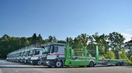 Hödlmayr România extinde flota cu 24 de transportoare de vehicule