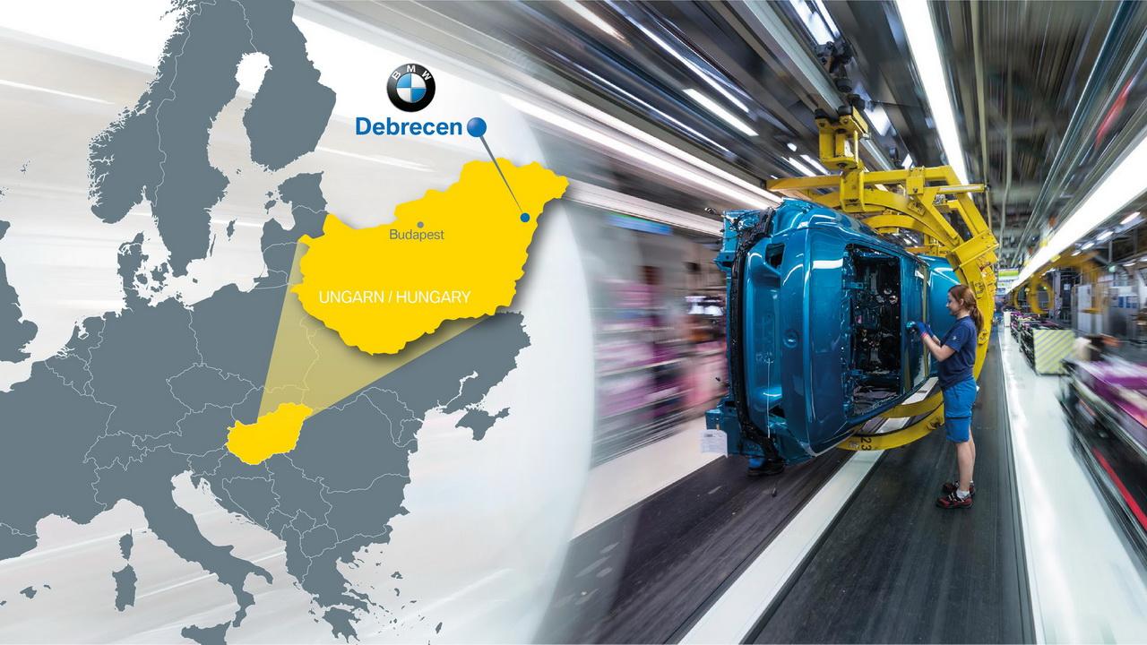 BMW investește 1 miliard de euro într-o nouă fabrică în Ungaria