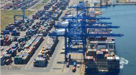 Trafic record de mărfuri prin porturile românești în 2018