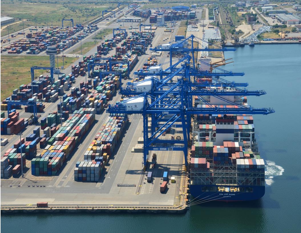 Portul Constanţa, hub multimodal pentru dezvoltarea regională