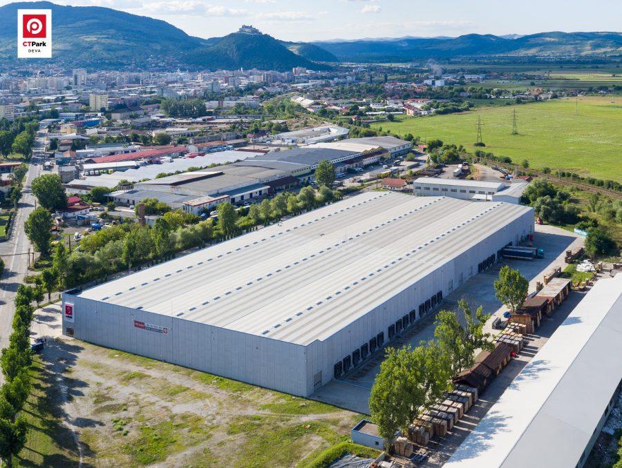 Primul dezvoltator care atinge 1 milion de metri pătrați de spații industriale în România