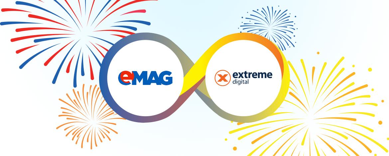 eMAG fuzionează cu competitorul său din Ungaria, Extreme Digital