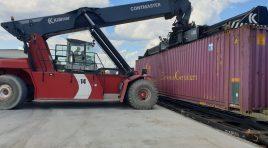 Airborne Global Services lansează primul tren intermodal pe ruta Cluj Napoca-Constanța