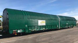 ARS Altmann AG și ICL introduc trenurile RoRo pentru automotive între Europa și China