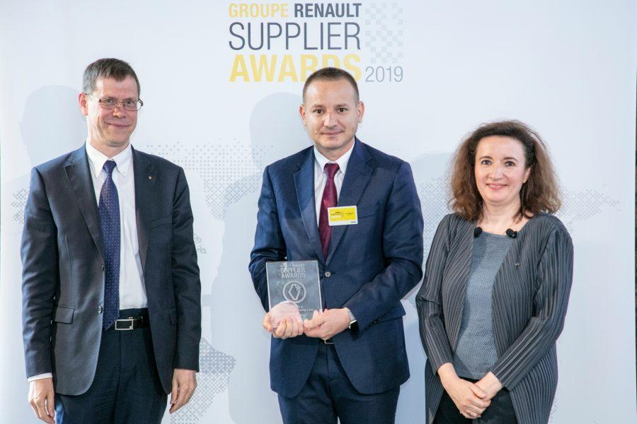 """Fabrica Faurecia din Pitești câștigă premiul Renault """"Quality Mindset"""""""